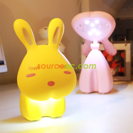 Easter gift rabbit lamp sourceec corporate gifts singapore negle Choice Image